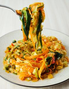 Carrot Zucchini Noodles
