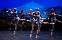 The Red Detachment of Women of Qingdao city, by the Chinese Communist Ballet