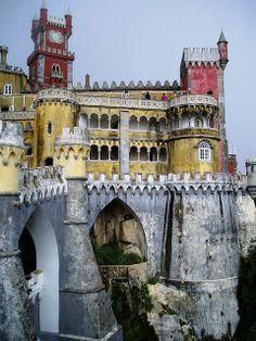 Palácio Nacional da Pena in Sintra, Portugal
