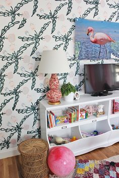 Cheerful playroom wi