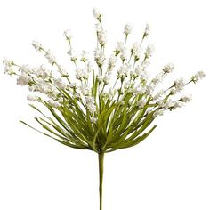 Field Flower Spray - White