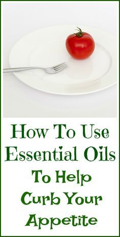 How to use essential oils to curb your appetite and potentially help you lose weight.