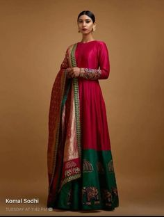The Mall At Oak Tree ~ Mayyur Girotra couture's interpretation of traditional staples for the modern woman. Indian Gowns, Indian Attire, Indian Ethnic Wear, Indian Outfits, Ethnic Gown, Indian India, Kurta Designs, Blouse Designs, Ethnic Fashion