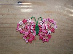 Ravelry: Butterfly Insertion pattern by American Thread Company