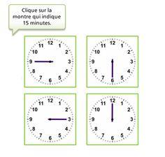 Apprenons lire l 39 heure heure apprentissage time for Connaitre ses heures creuses