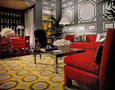 Classic 70's decor.