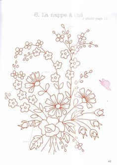 spray of daisies, roses, forget-me-notsru / Foto nº 56 - 819 -Embroidery Designs Rogers Ar Embroidery Patterns Of AnimalsEmbroidery Designs Job In Ahmedabad Nigerian Embroidery StylesEmbroidery Patterns For Golf Embroidery Website Templates Free Floral Embroidery Patterns, Silk Ribbon Embroidery, Crewel Embroidery, Hand Embroidery Designs, Vintage Embroidery, Cross Stitch Embroidery, Machine Embroidery, Embroidery Sampler, Flower Embroidery