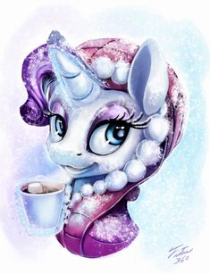 Snow Pony_Rarity by Tsitra360.deviantart.com on @DeviantArt