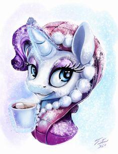 Snow Pony_Rarity by Tsitra360.deviantart.com on @DeviantArt