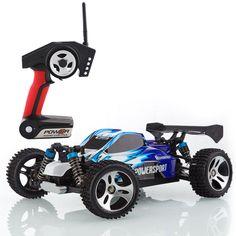 Metakoo MK-H1802 RC Auto Off Road Schnelle Geschwindigkeit 45 km / h Maßstab 1:18 100M Fernbedienung 10 Minuten Spielzeiten 4WD schnelles Fahrzeug 2,4 GHz Elektro Buggy Car- Blau: Amazon.de: Spielzeug
