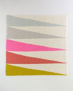 Ravelry: Colorful Wedges Baby Blanket pattern by Purl Soho