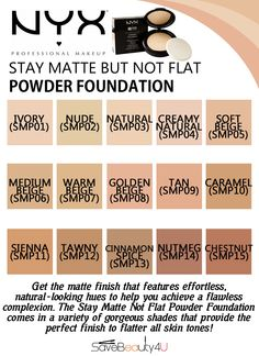 nyx powder foundation review - Google Search