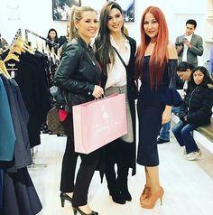 Señorita Colombia Lucia Aldana en nuestra Boutique