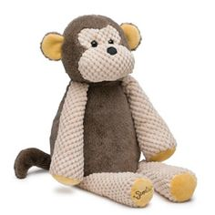 "Mollie the Monkey  Ready to swing into your arms, Mollie the Monkey is 5.5"" wide, 9.5"" tall when seated, and 15.5"" tall from head to toe. She comes alive with fragrance when you place a Scent Pak in the zippered pocket in her back.  Your Price: $25.00  To Order: https://wabramson.scentsy.us/Scentsy/Buy/ProductDetails/SY-MTM-KIT"