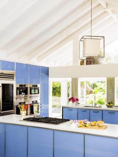 10+ Most Popular Kitchen Color Ideas and Combination | Colorful Kitchen