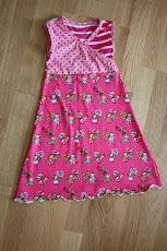 Tutorial Kleid mit Wickeloptik