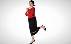 35 of the Best Women's Halloween Costumes to Snag Online via Brit + Co. Work Appropriate Halloween Costumes, Costume Halloween, Olive Oyl Costume, Halloween This Year, Dress Me Up, Amazing Women, Night Out, Normcore, Good Things