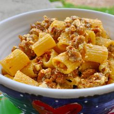 This recipe for Pasta al Pastore courtesy of our friends at A Little Yumminess almost makes itself.