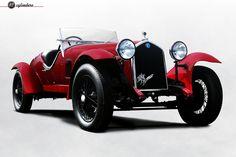 The Car: Alfa Romeo 6C 1500 Gran Sport Testa Fissa by Zagato, #10814406, 1933 …