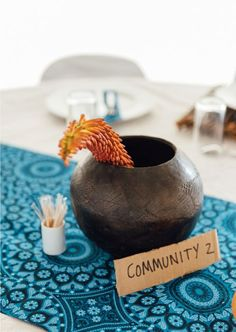 Umembeso is a gift-giving ceremony that forms part is the traditional Zulu wedding process. Zulu Wedding, Wedding Inspiration, Place Card Holders, Bride, Gifts, Decor, Wedding Bride, Presents, Decoration