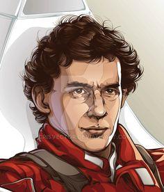 Senna by CrisVector