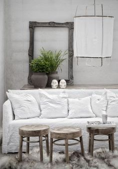 10 inspirations chic pour un salon rustique Living Room Interior, Home Living Room, Living Spaces, Love Warriors, Home And Deco, Cool Ideas, Interiores Design, Interior Inspiration, Color Inspiration