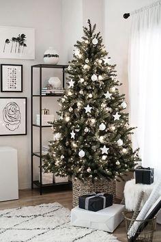 Árboles de Navidad 2018 2019 Ideas y Tendencias – ÐecoraIdeas Minimal Christmas, Cozy Christmas, Modern Christmas, Beautiful Christmas, Minimalist Christmas Tree, Xmas, Scandinavian Christmas, Rustic Christmas, Rose Gold Christmas Decorations