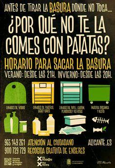 Campaña de limpieza viaria. #Alicante #MedioAmbiente