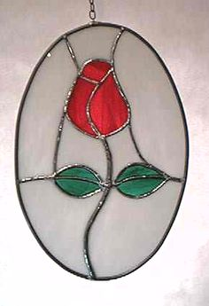 Stained Glass - Cameo Rose