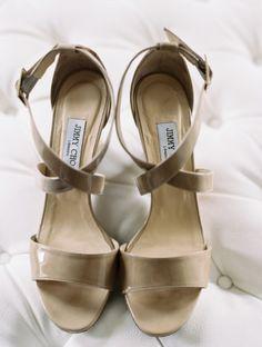 Shoes, Jimmy Choo; Photo: Abby Jiu Photography - Washington, DC Wedding http://caratsandcake.com/MeganandLeo