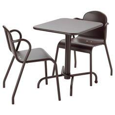TUNHOLMEN, Tisch+2 Stühle/außen, dunkelbraun Jetzt bestellen unter: https://moebel.ladendirekt.de/garten/gartenmoebel/gartenmoebel-set/?uid=9e4b80d4-5e58-5e7e-a2fe-df910ad51693&utm_source=pinterest&utm_medium=pin&utm_campaign=boards #garten #gartenmoebel #gartenmoebelset