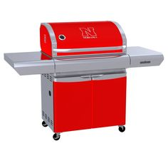 University of Nebraska – Lincoln Cornhuskers - first-ever high-end gas grill designed specifically for sports fans in team colors with logo