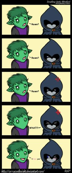 Beastboy Wants Attention by AccursedKnight on deviantART
