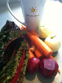 I just posted about Juicing with a printable shopping list and recipes from Joe Cross! LOVE JUICING!