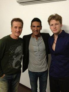 con Marco di Mauro y Alexander Acha