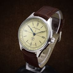 "Molnija ""Lightning"" Unique Custom Made Watch From Soviet Chronometer Pocket Watch Movement - homage watch zenith cortebert marriage watch by BestVintage4You on Etsy"