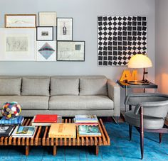 Arte para tu sofá: muros galería