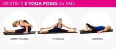 3 Yoga Poses for the Worst Cramps - Actually worked for me!