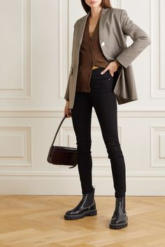 Girl Fashion, Fashion Outfits, Womens Fashion, Business Chic, Elegantes Outfit, Classic Wardrobe, Skinny, Urban Outfits, Cute Casual Outfits