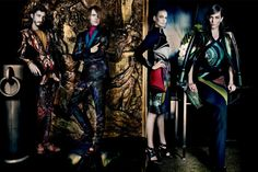 Andres Risso, Nan Fulong & Ton Heukels Star in Etro Fall/Winter 2013 Campaign » The Fashionisto
