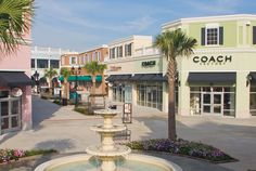 Tanger North Outlet Mall is one of the best shopping in Myrtle Beach, SC. Love the Coach outlet! Myrtle Beach Shopping, Myrtle Beach Resorts, Myrtle Beach Vacation, North Myrtle Beach, Beach Trip, Myrtle Beach Things To Do, North Charleston Sc, Beach Photos, Interior