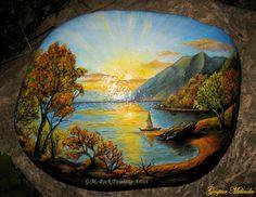 Rock Painting Artist Gáspár Melinda