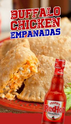 Feed a crowd of 20 in just 20 minutes with Frank's RedHot Buffalo Chicken Empanadas.