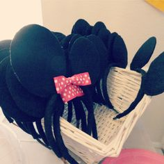 Minnie and Mickey mouse ears party favors