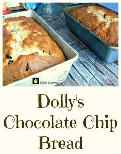 Dolly's Chocolate Chip Cake Dolly's Chocolate Chip Cake. Very easy recipe and a family favorite!   This delicious recipe has been generously shared by one of our Lovefoodie supporters, Debi Garwol. There's a wonderful story behind many of the recipes Debi shares. Who may you ask is Dolly? Well, Dolly is Debi's Mom, who used to spend many hours in the kitchen with her children, teaching them how to bake wonderful things. Before Dolly's passing, she typed up all her recipes ...
