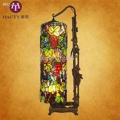 Großhandel Großhandels Colored Glass Tiffany Lampen Handwerk Upscale Home Decor Tischlampe Stehlampe Rose Edel Und Elegant Von Roberte, $1178.24 Auf De.Dhgate.Com | Dhgate
