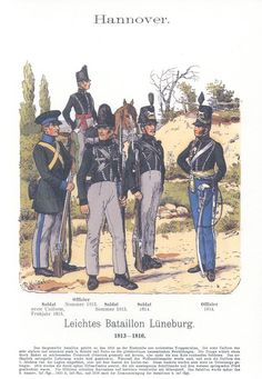 Empire, Bataille De Waterloo, German Confederation, Army Uniform, Military Uniforms, Waterloo 1815, Germany And Prussia, German Uniforms, French Revolution