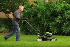 the Best Corded Electric Lawn Mower - Greenworks 12 Amp Corded Lawn Mower 25022 - GreenWorks 25322 lawn mower, Battery included Different Types Of Grass, Gas Lawn Mower, Yard Tools, Cord, Easy, Environment, Surface, Shape, Cable