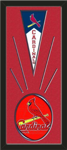 St. Louis Cardinals Wool Felt Mini Pennant & St. Louis Cardinals Team logo Photo - Framed With Team Color Double Matting In A Quality Black Frame-Awesome & Beautiful-Must For A Championship Team Fan! Most NFL, MLB, NBA, Teams Available-Plz Mention In Gift Message If Need A different Team Art and More, Davenport, IA http://www.amazon.com/dp/B00I1BUA32/ref=cm_sw_r_pi_dp_FvtEub1DK4F90