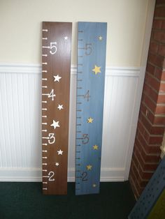 Children's Height Chart by Moonbugdesigns on Etsy, $39.00